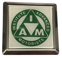 Picture of Square vehicle Badge     GREEN