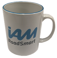 Picture of IAM Roadsmart mug.